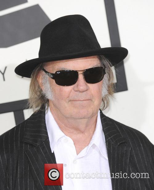 neil young 56th grammy awards 4042365