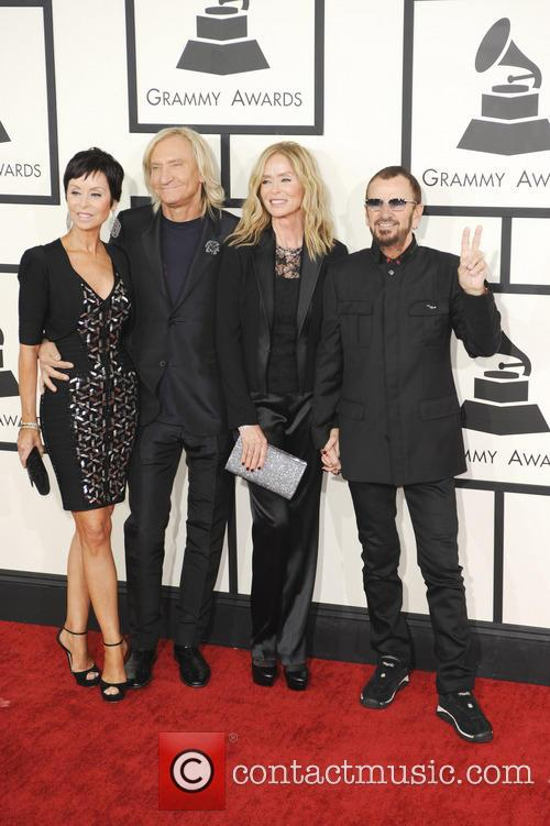 Barbara Bach, Ringo Starr, Marjorie Bach and Joe Walsh 2
