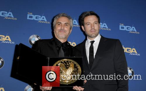 Alfonso Cuaron and Ben Affleck 5