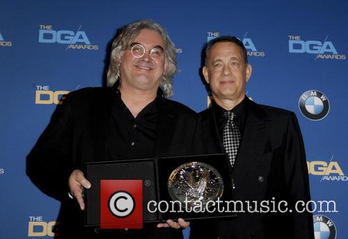 Paul Greengrass and Tom Hanks 2
