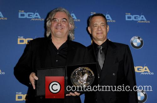 Paul Greengrass and Tom Hanks 1