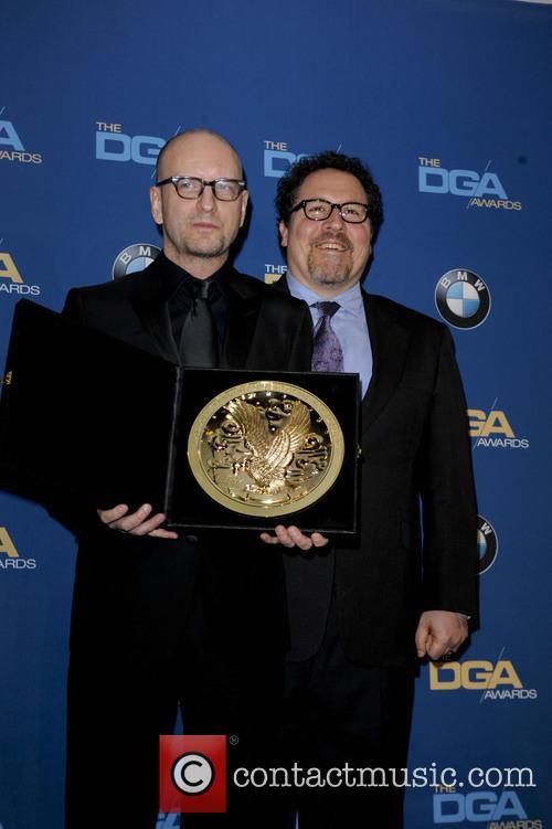 Steven Soderbergh and Jon Favreau 4