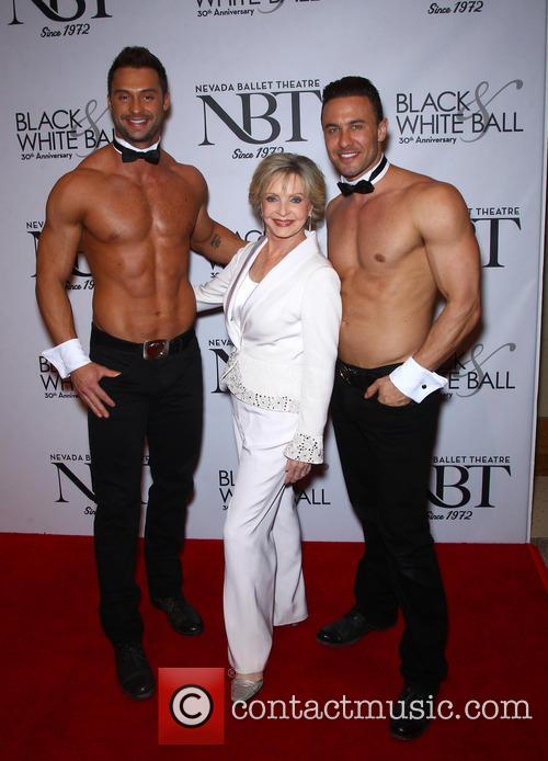 Florence Henderson and Chippendales 4