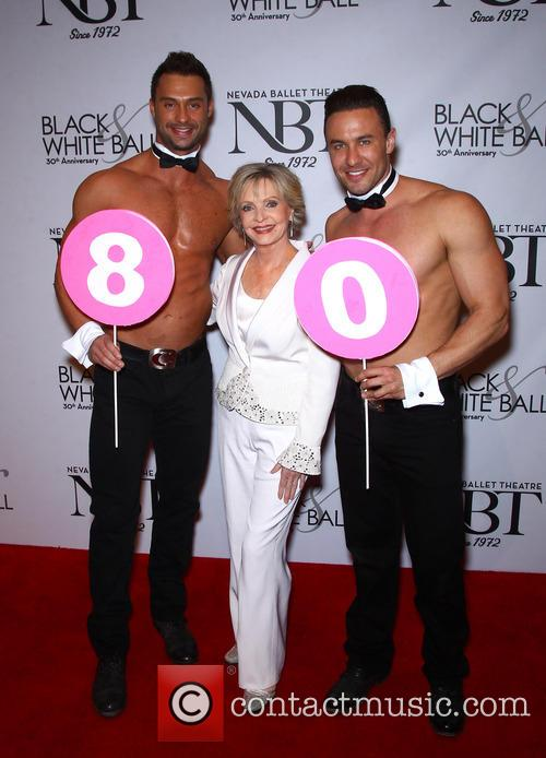 Florence Henderson and Chippendales 6