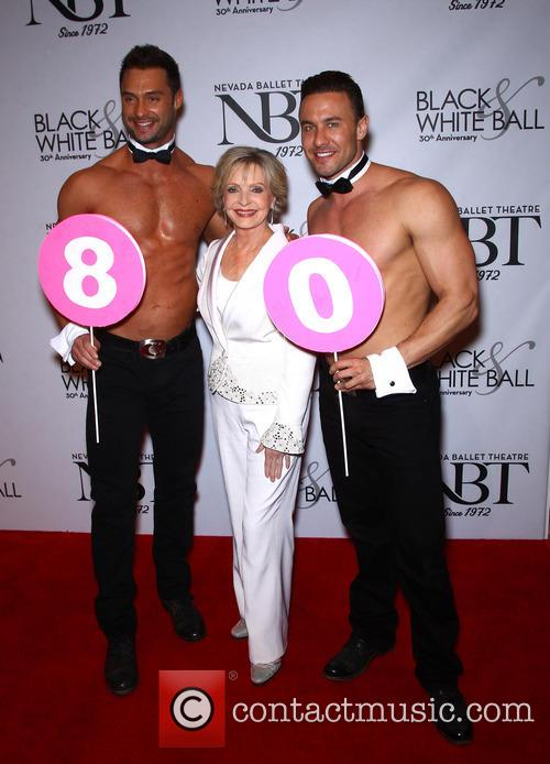 Florence Henderson and Chippendales 7