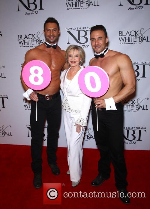 Florence Henderson and Chippendales 8