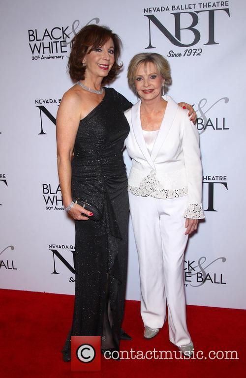 Rita Rudner and Florence Henderson
