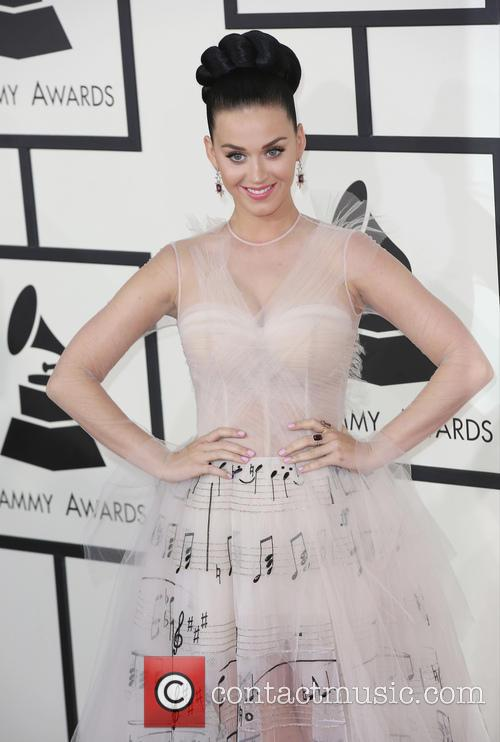 Katy Perry, The Staples Center, Grammy Awards