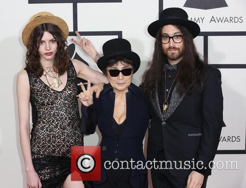 Charlotte Kemp Muhl, Yoko Ono and Sean Lennon 2
