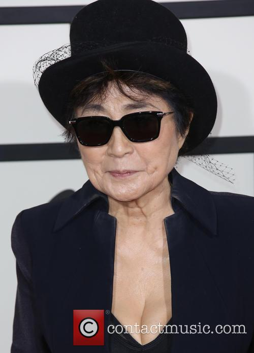 Yoko Ono, The Staples Center, Grammy Awards
