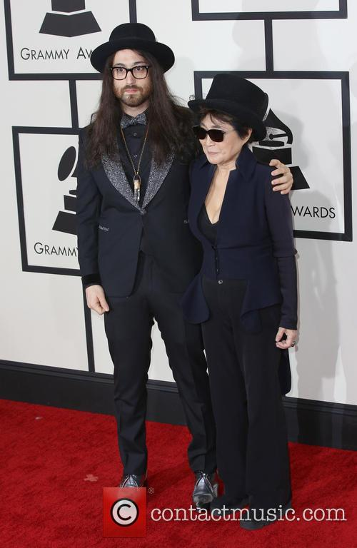 Yoko Ono and Sean Lennon 6