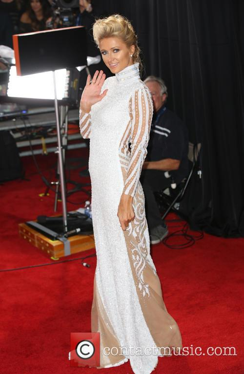 paris hilton 56th annual grammy awards 4042143