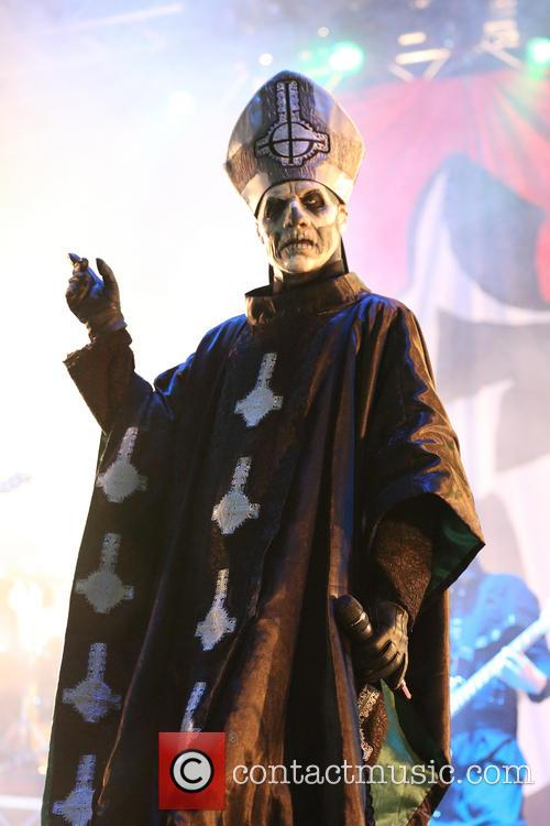 Papa Emeritus II, Sydney Showgrounds, Big Day Out