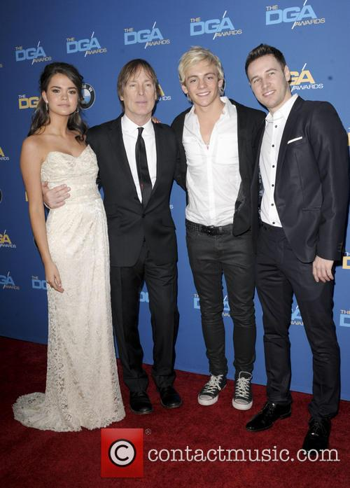 Jeffrey Hornaday, Ross Lynch, Christopher Scott and Maia Mitchell 1