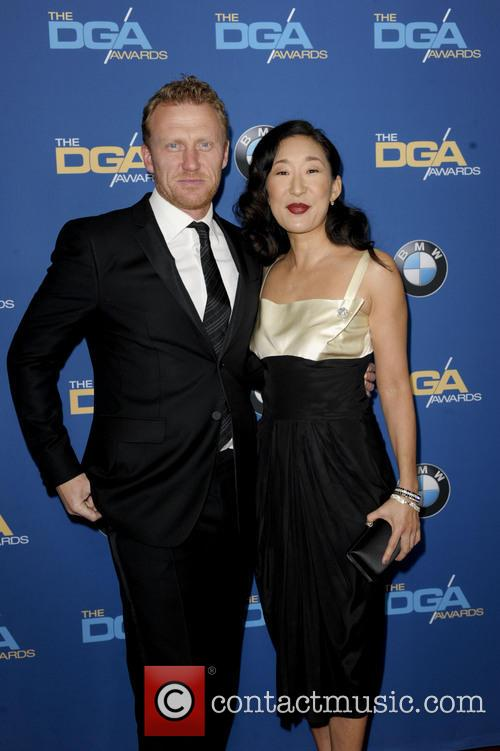 Kevin Mckidd and Sandra Oh 2