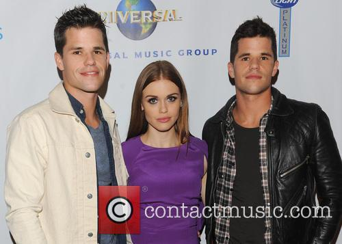 Max Carver, Holland Roden, Charlie Carver and Universal Music 8