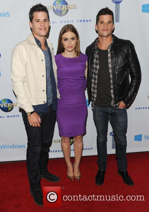 Max Carver, Holland Roden, Charlie Carver and Universal Music 4