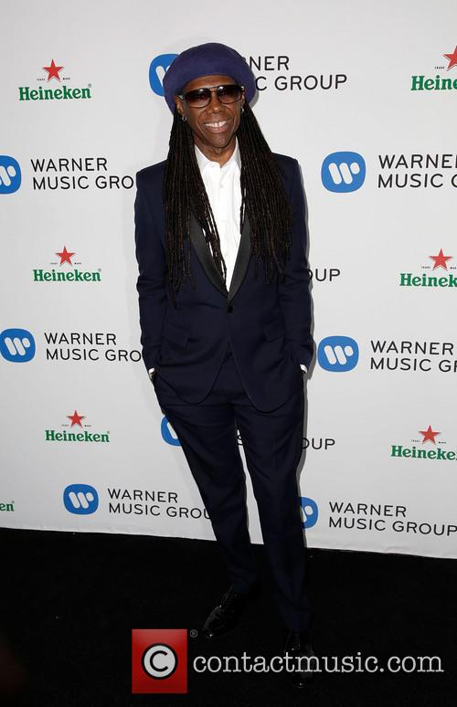 Nile Rodgers, Sunset Tower Hotel, Grammy
