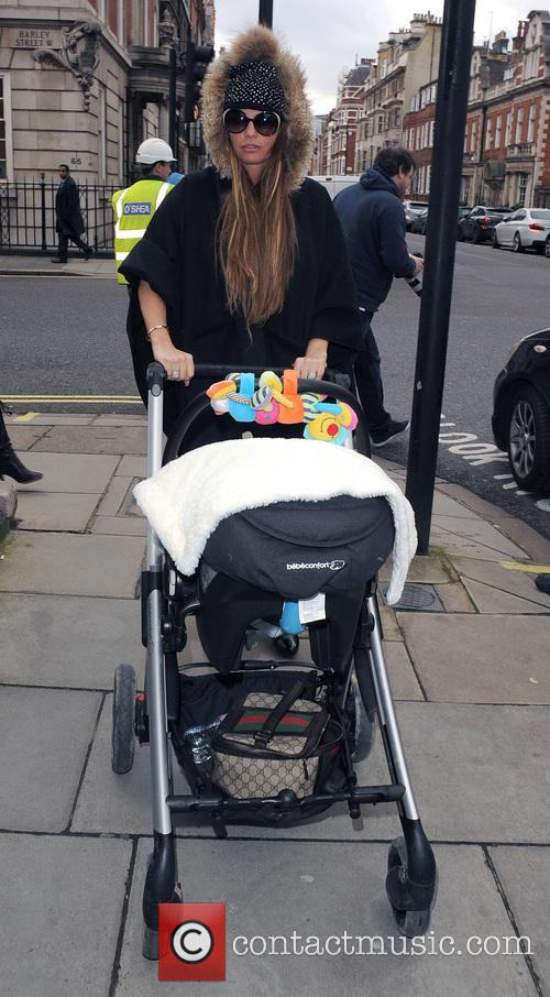 Katie Price heads to Harley Street