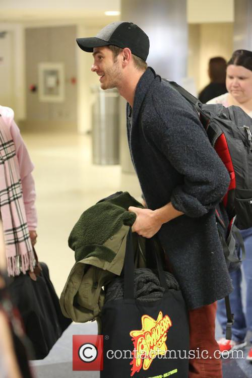 Andrew Garfield At LAX