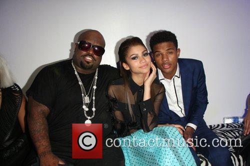 Ceelo Green, Trevor Jackson and Zendaya Coleman 5