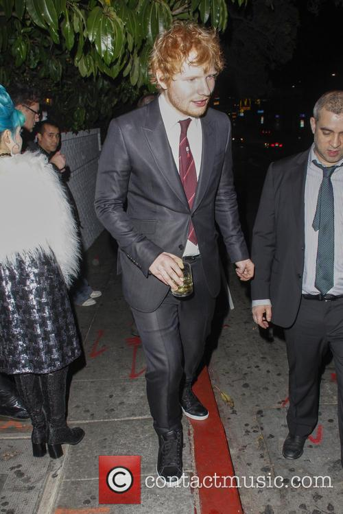ed sheeran grammy party at chateau marmont 4042605