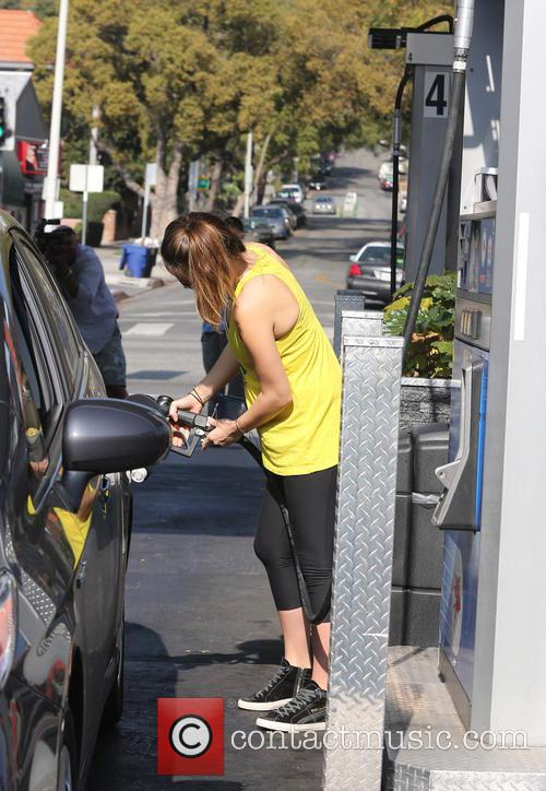 Pregnant Olivia Wilde out and about