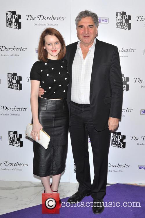 Sophie Mcshera and Jim Carter 1