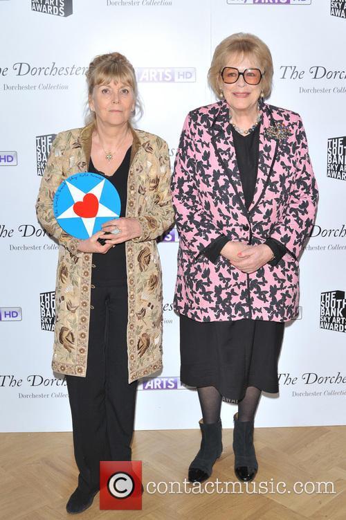 Kate Atkinson and Dame Antonia Fraser
