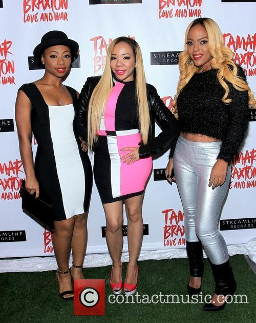 Tamar Braxton, Tiny Harris and Celebration 4