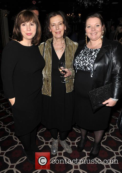 The Invisible, Abi Morgan, Claire Tomalin and Joanna Scanlan 4