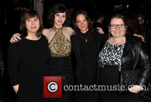 Abi Morgan, Felicity Jones, Gaby Tana and Joanna Scanlan 2