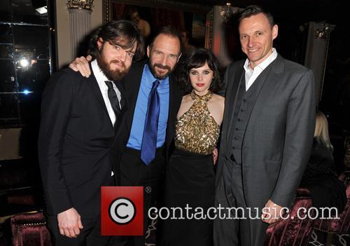 Tom Burke, Ralph Fiennes, Felicity Jones and Zygi Kamasa 2