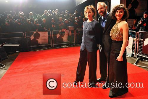 Ralph Fiennes, Kristen Scott Thomas, Felicity Jones and The Invisible 8