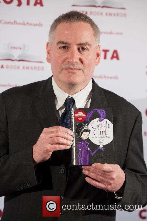Chris Riddell at the Costa Book Awards