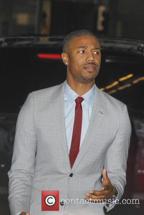 Michael B. Jordan, That Awkward Moment Premiere