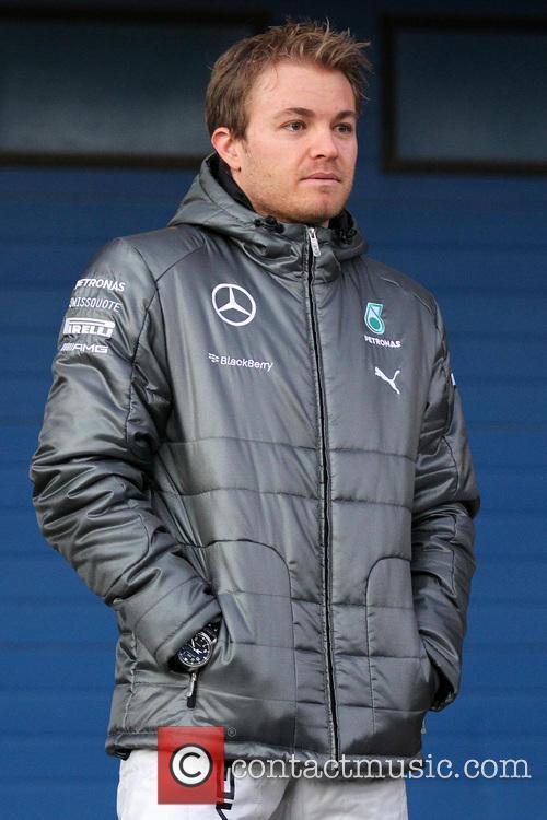 F1 - Mercedes unveil the F1 W05 car