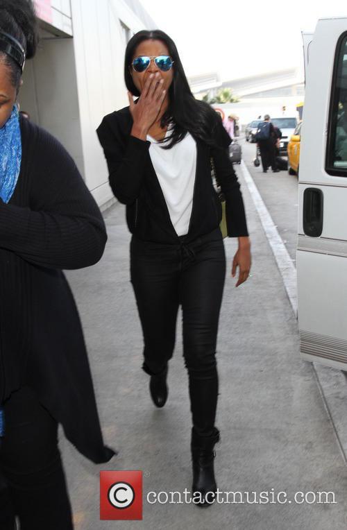 Gabrielle Union arrives at LAX