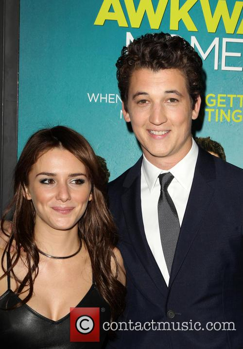 Addison Timlin and Miles Teller 1