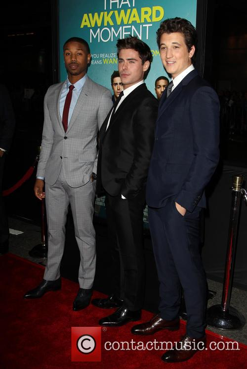 Michael B. Jordan, Zac Efron and Miles Teller 2