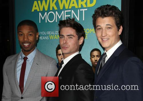 Michael B. Jordan, Zac Efron and Miles Teller 4