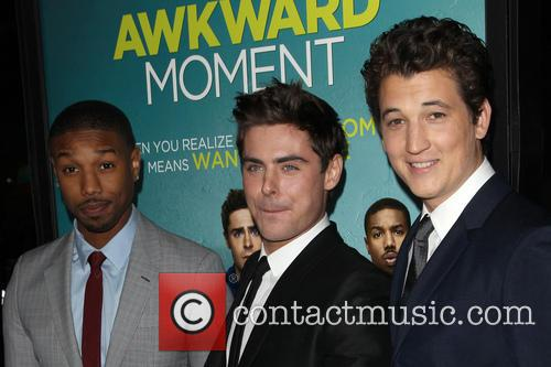 Michael B. Jordan, Zac Efron and Miles Teller 10