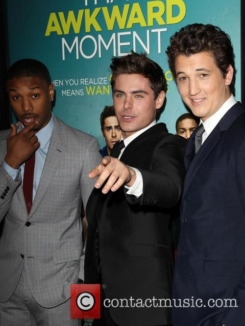 Michael B. Jordan, Zac Efron and Miles Teller 1
