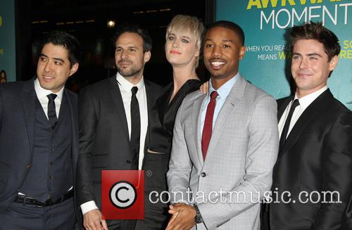 Tom Gormican, Mackenzie Davis, Michael B. Jordan and Zac Efron 4