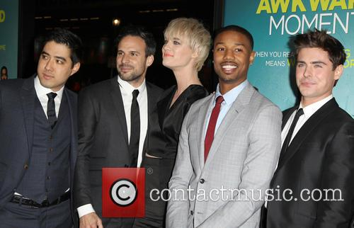 Tom Gormican, Mackenzie Davis, Michael B. Jordan and Zac Efron 5