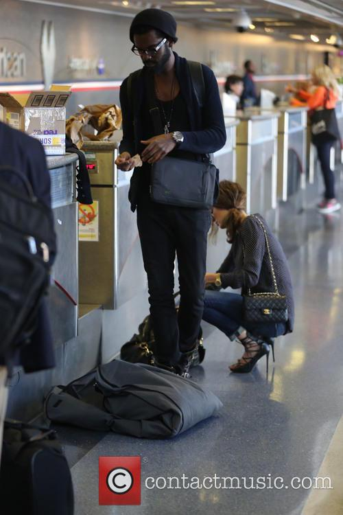 Gary Clark Jr At LAX