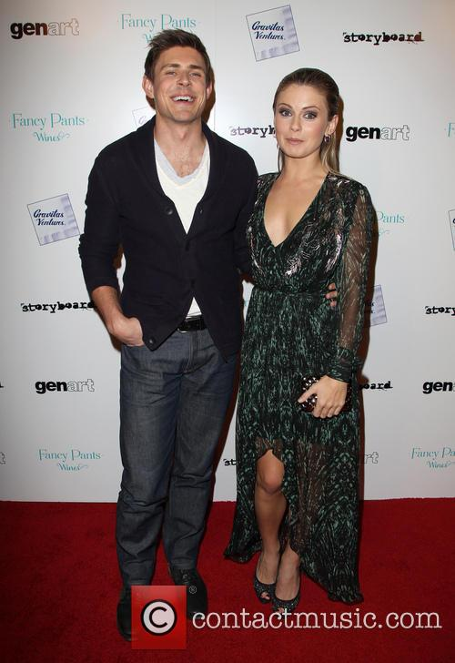 Chris Lowell and Rose McIver 4