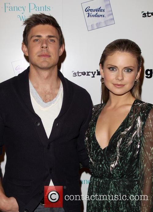 Chris Lowell and Rose McIver 1