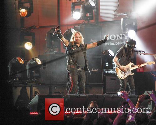 Motley Crue, Vince Neil and Mick Mars 3