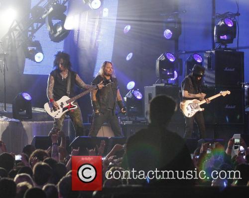 Motley Crue, Vince Neil, Nikki Sixx, Mick Mars, Jimmy Kimmel Live Studio